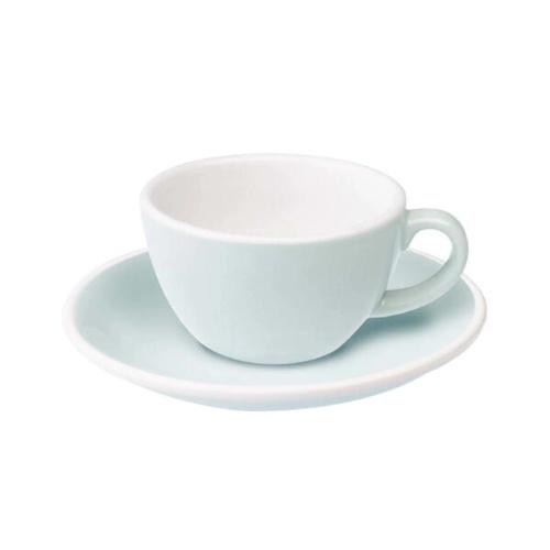 Loveramics Egg Koffie kop en schotel River Blue 150 ml