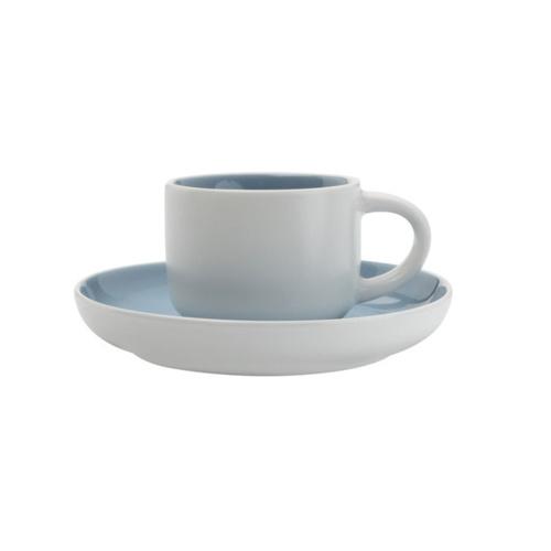 Maxwell & Williams Tint Espresso Kop en Schotel Blauw