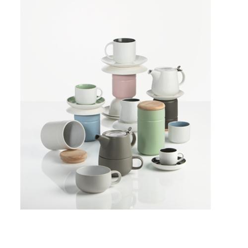 Maxwell & Williams Tint Tea For One Lichtgrijs