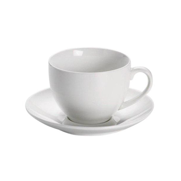Maxwell & Williams White Basics Koffie Kop en Schotel