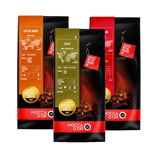Mocca dor Koffiebonen Proefpakket 750 gram