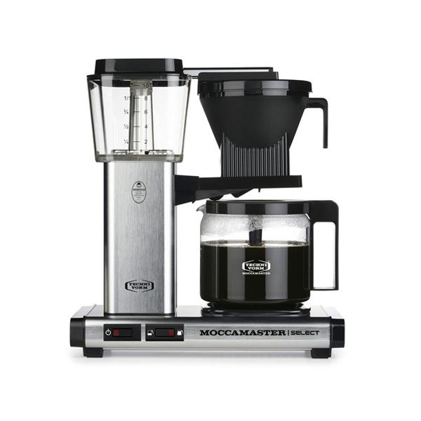 Moccamaster Koffiezetapparaat KBG Select Brushed