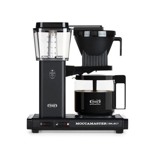 Moccamaster Koffiezetapparaat KBG Select Matt Black