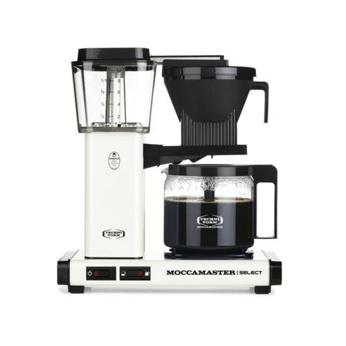 Moccamaster Koffiezetapparaat KBG Select Off White