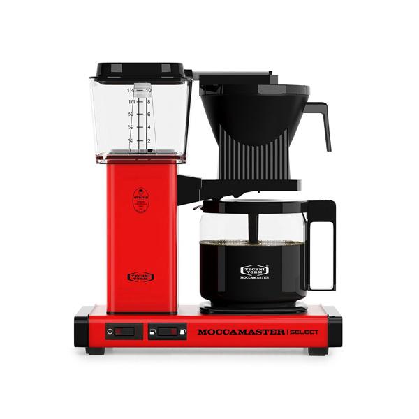 Moccamaster Koffiezetapparaat KBG Select Red