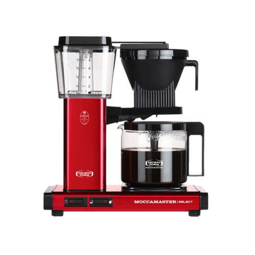Moccamaster Koffiezetapparaat KBG Select Red Metallic