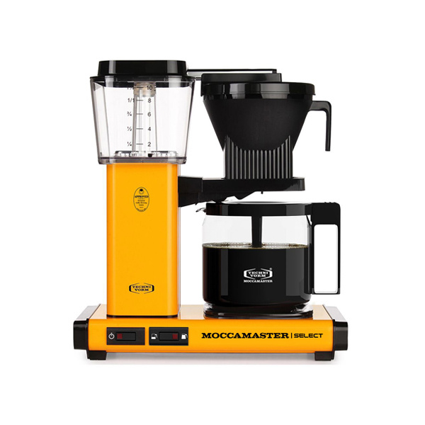 Moccamaster Koffiezetapparaat KBG Select Yellow Pepper
