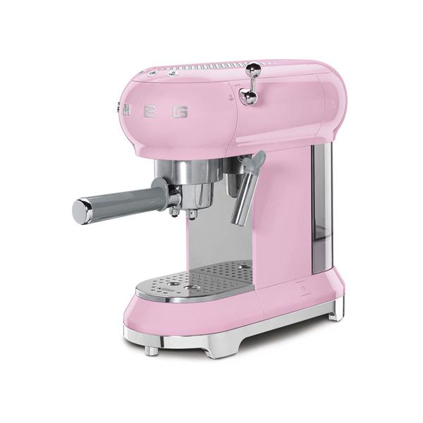Smeg Espressomachine Roze