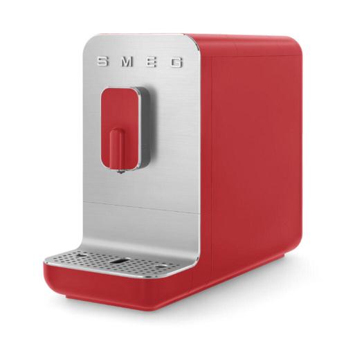 Smeg Volautomatische Koffiemachine Basic Rood