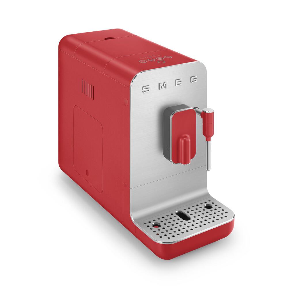 Smeg Volautomatische Koffiemachine Medium Rood