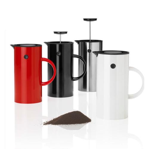 Stelton Cafetiere 8 kops Zwart
