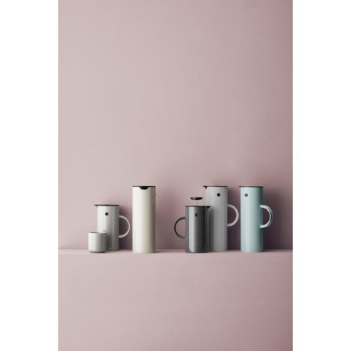 Stelton EM77 Thermoskan 1L Dusty Groen