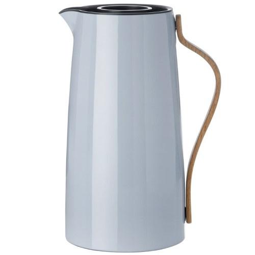 Stelton Emma Thermoskan voor koffie 1,2L Blauw Grijs