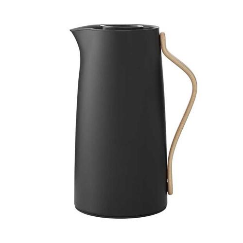 Stelton Emma Thermoskan voor Koffie 1,2L Mat Zwart