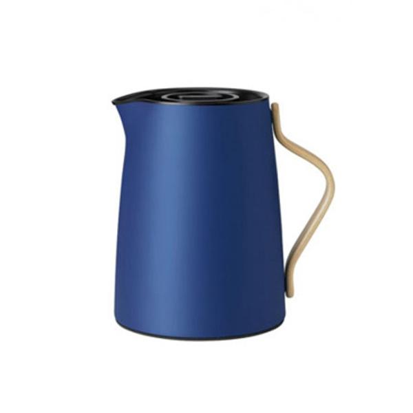 Stelton Emma Thermoskan Voor Thee 1L Donkerblauw