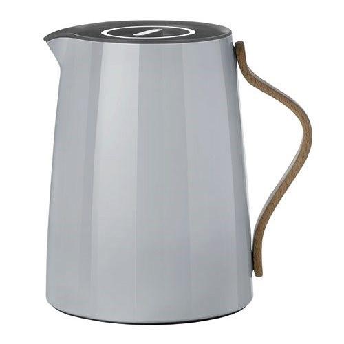 Stelton Emma Thermoskan voor thee 1L Grijs - 1