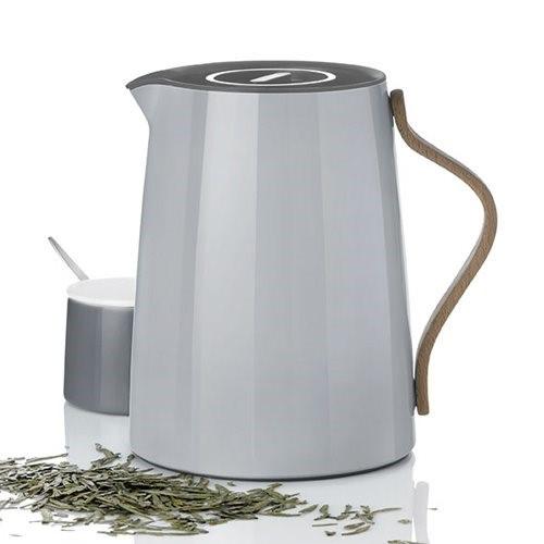 Stelton Emma Thermoskan voor thee 1L Grijs