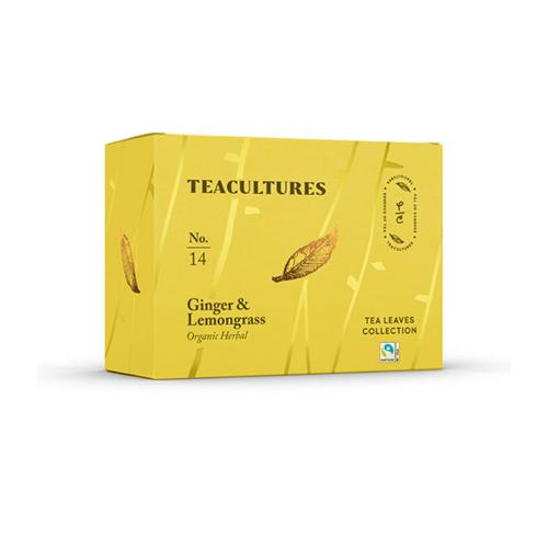 Tea Cultures Ginger Lemongrass