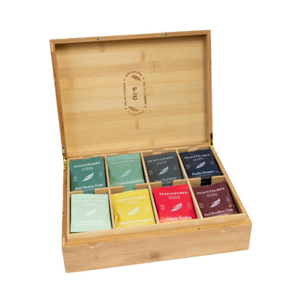Tea Cultures Theedoos 8 Vaks Gevuld