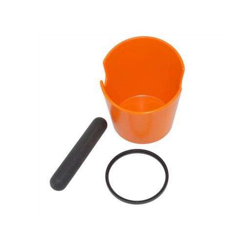 Uitklopbak Kunststof Oranje